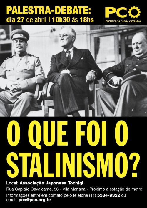 cartaz de convocação do debate