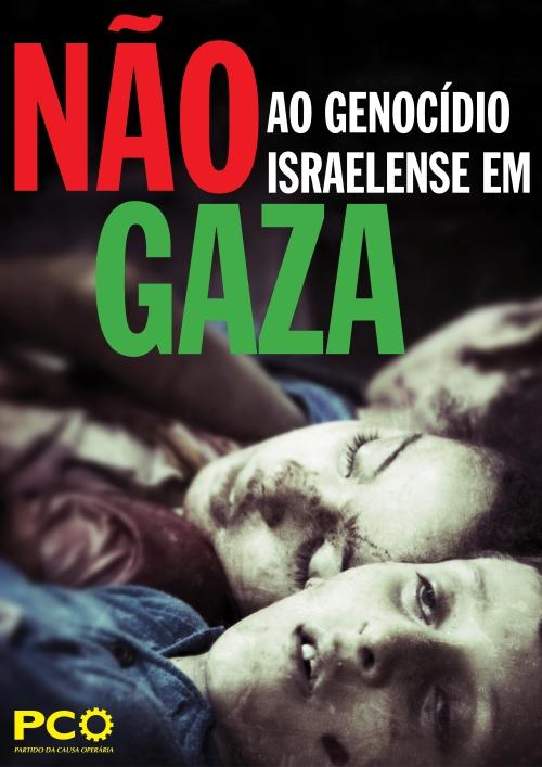 cartaz - gaza'