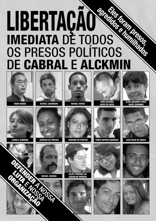 Libertação imediata de todos os presos políticos - v2-2