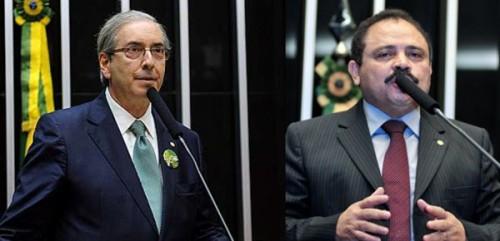 Eduardo-Cunha-e-vice-presidente da camara Waldir-Maranhão