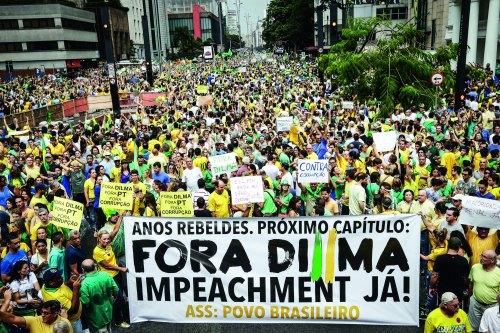 SP, 15/03/15, Protesto contra governo Dilma / S¿o Paulo