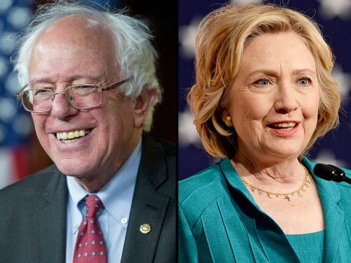Sanders.Hillary